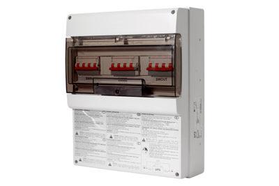 MBB 100A 2 polig Externer Bypass 100A für Wandmontage zur unterbrechungsfreien Freischaltung der USV Anlage